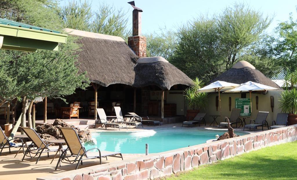 Erindi Old Traders Lodge - zwembad