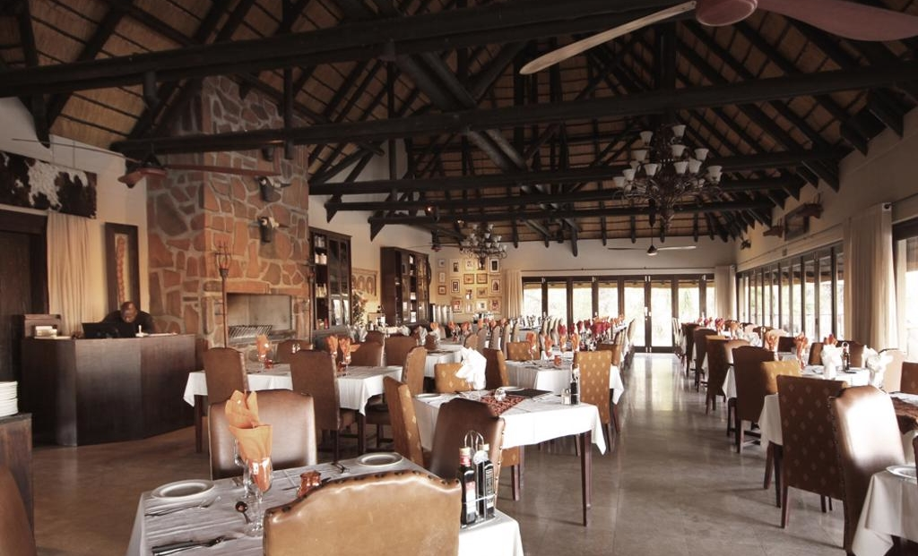 Erindi Old Traders Lodge - restaurant