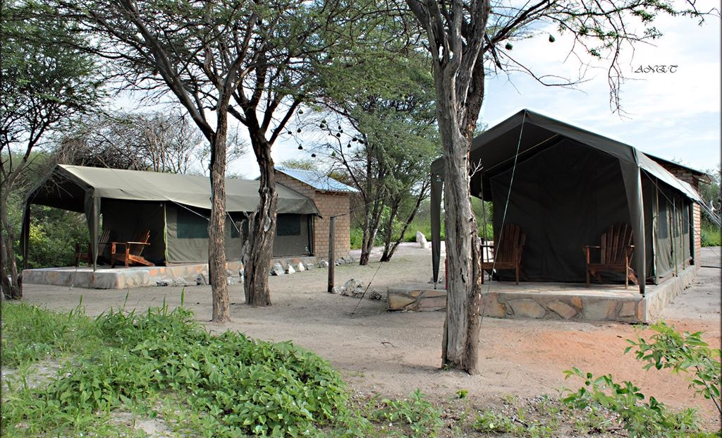 Fiume Bush Camp - tented rooms