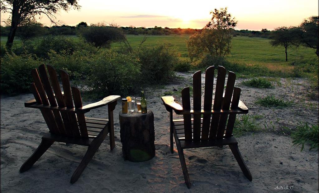 Fiume Bush Camp - zonsondergang