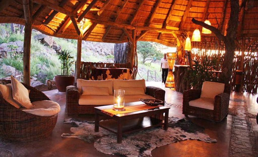 Khowarib Lodge - lounge