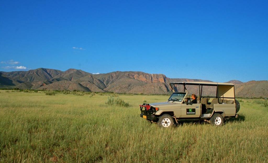 Khowarib Lodge - gamedrive voertuig