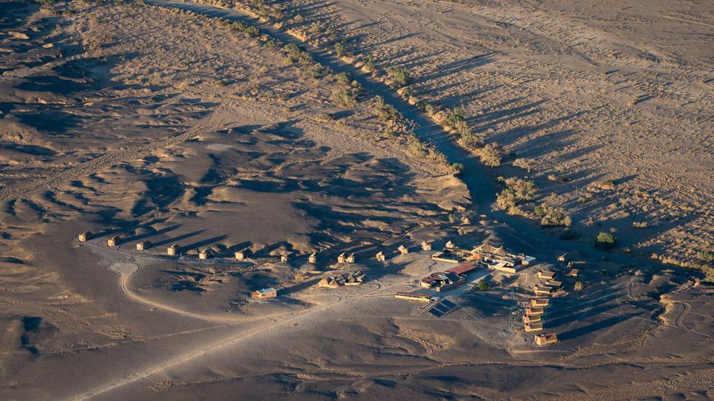 Kulala Desert Lodge - luchtfoto