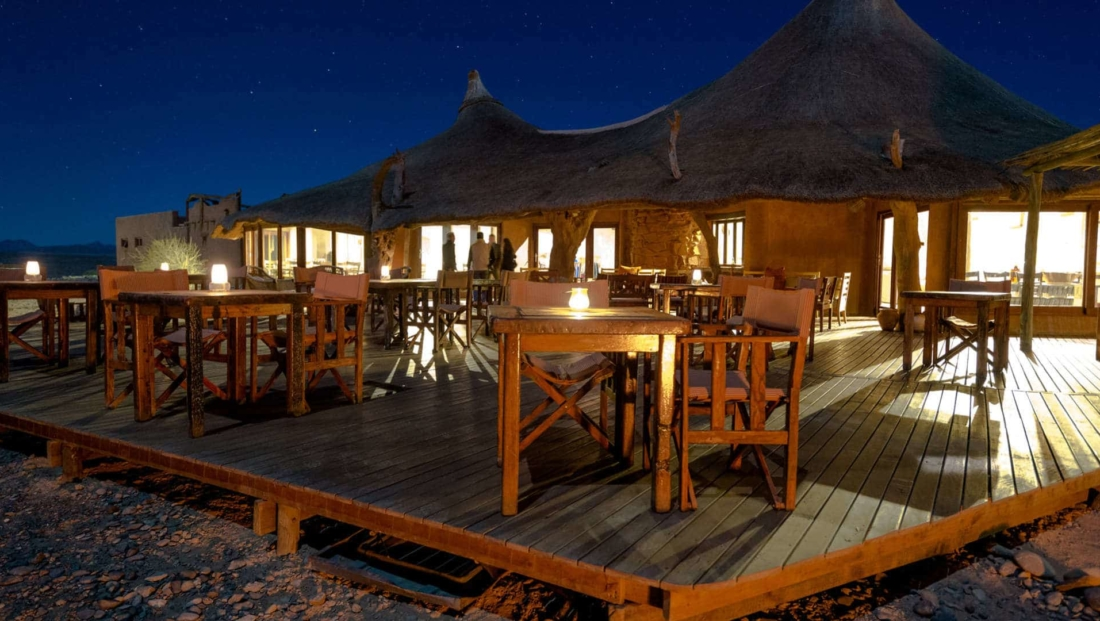 Kulala Desert Lodge - restaurant