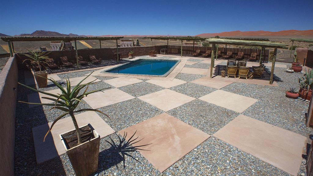 Kulala Desert Lodge - zwembad