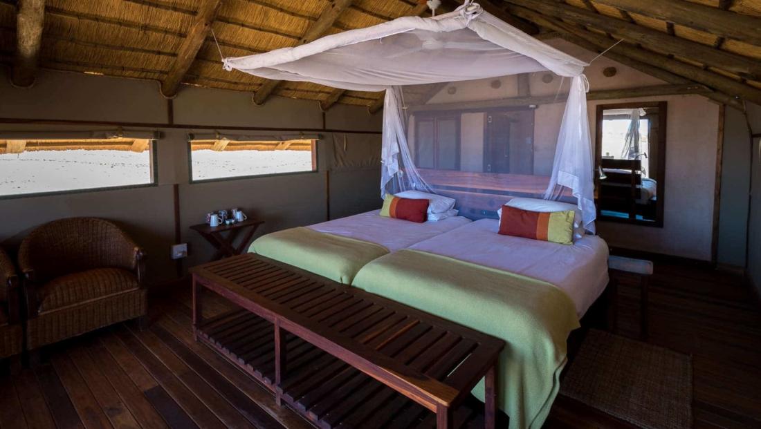Kulala Desert Lodge - slaapkamer