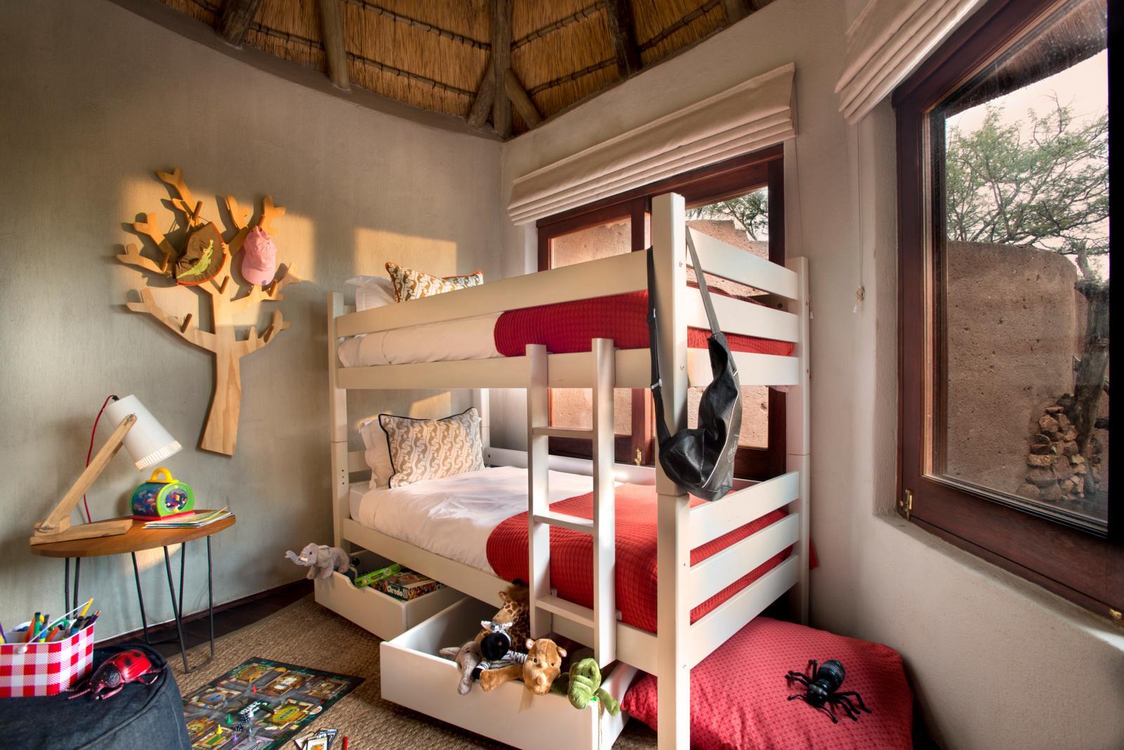 Familiereizen Afrika - Familiekamer Madikwe Safari Lodge
