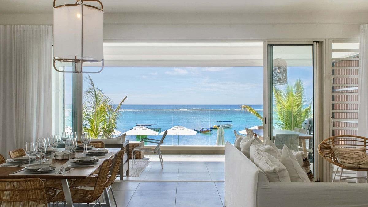 O'Biches - Appartement met uitzicht op zee