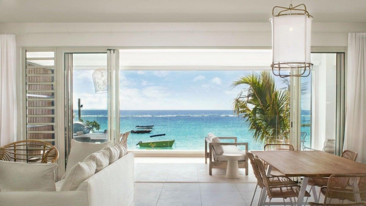 Rondreizen vakantie Mauritius - Appartement met uitzicht op de oceaan