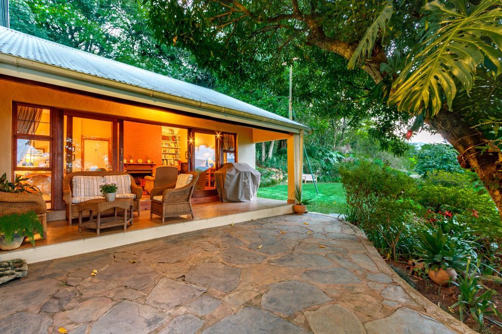 Rondreizen Zuid-Afrika, Namibië en Botswana - Porcupine Ridge Guesthouse op een mooie locatie