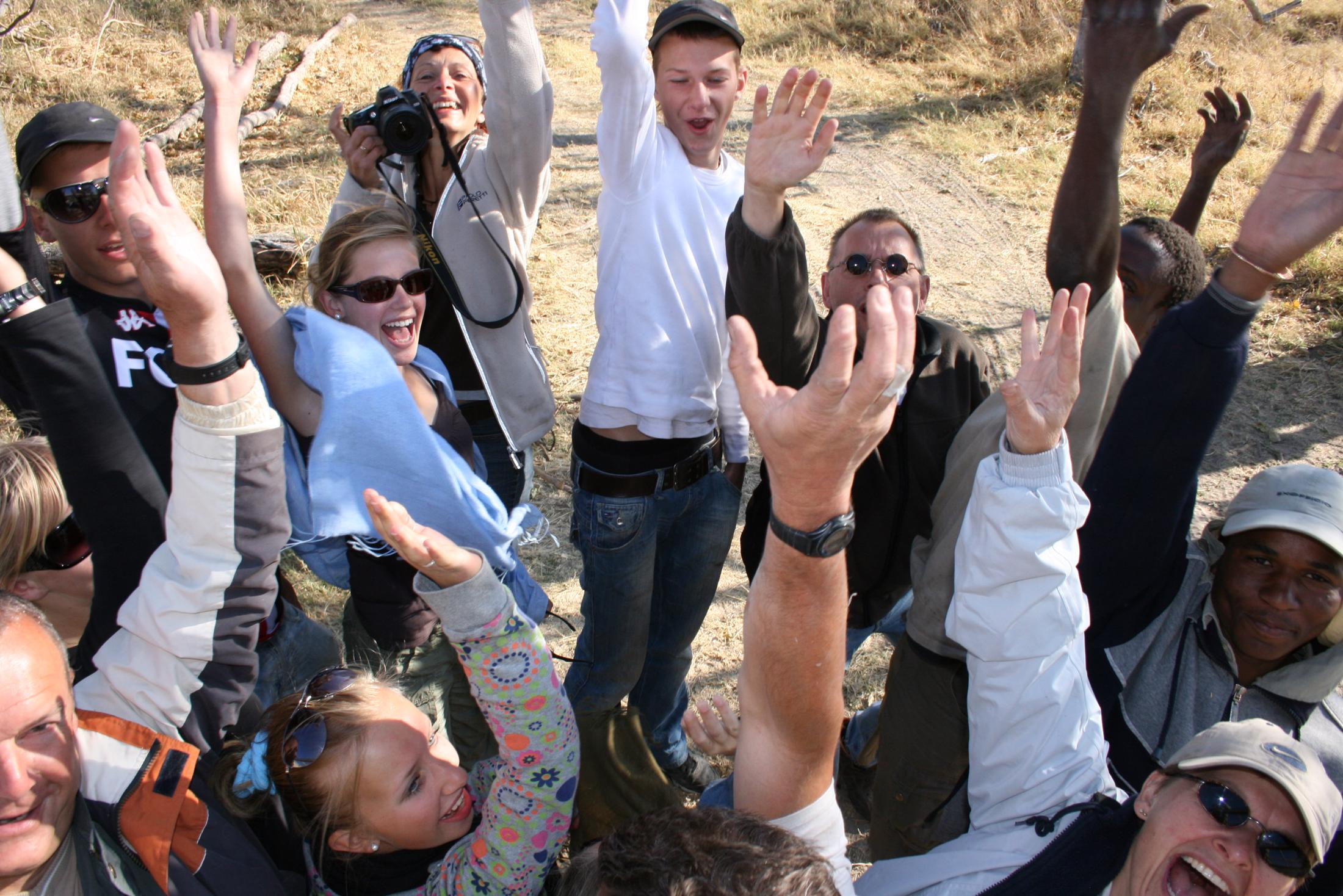 Familiereizen Namibië - Bij een familiegroep zijn er vaak veel verschillende wensen en meningen.
