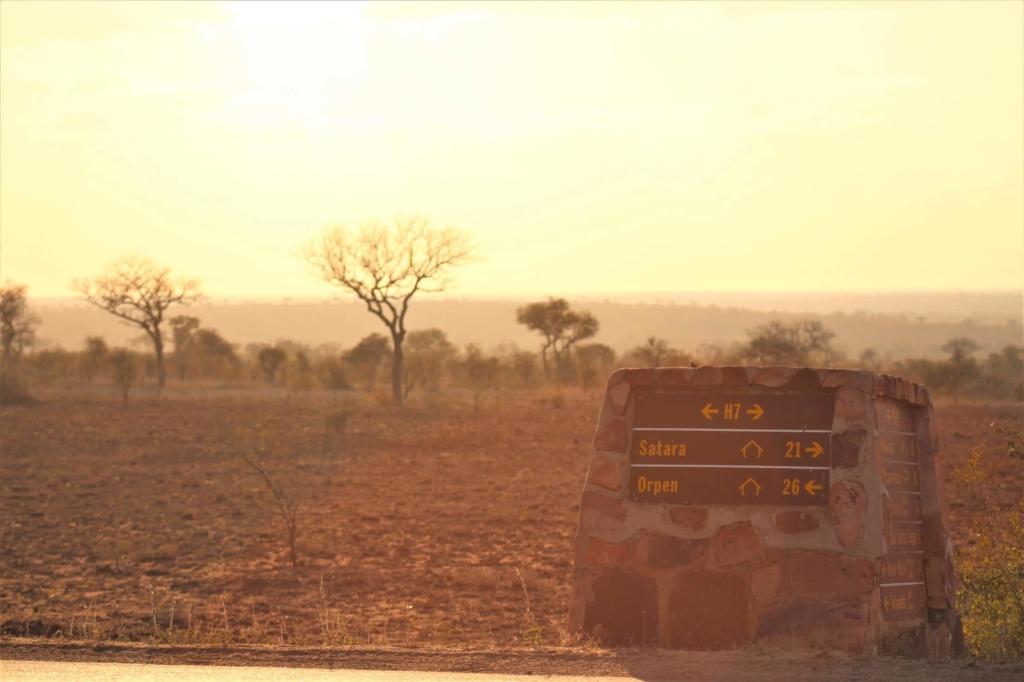 Zelf rijden in Kruger National Park - Bewegwijzering in het park