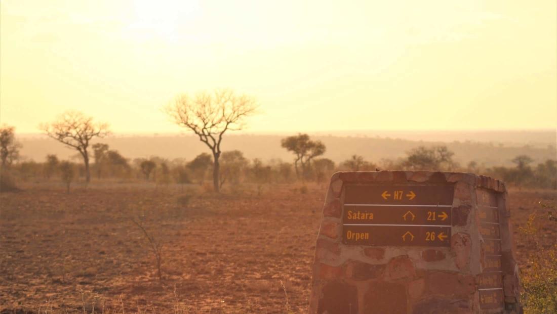 Kruger NP - Bewegwijzering in het park