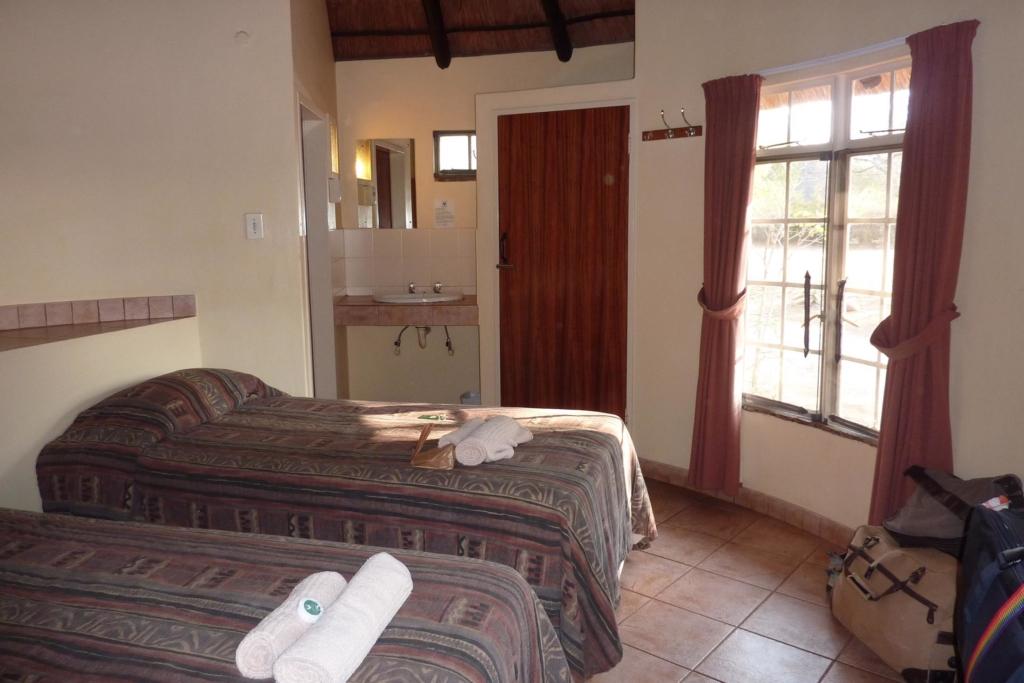 Wildparken Zuid-Afrika - Kruger National Park - Slaapkamer