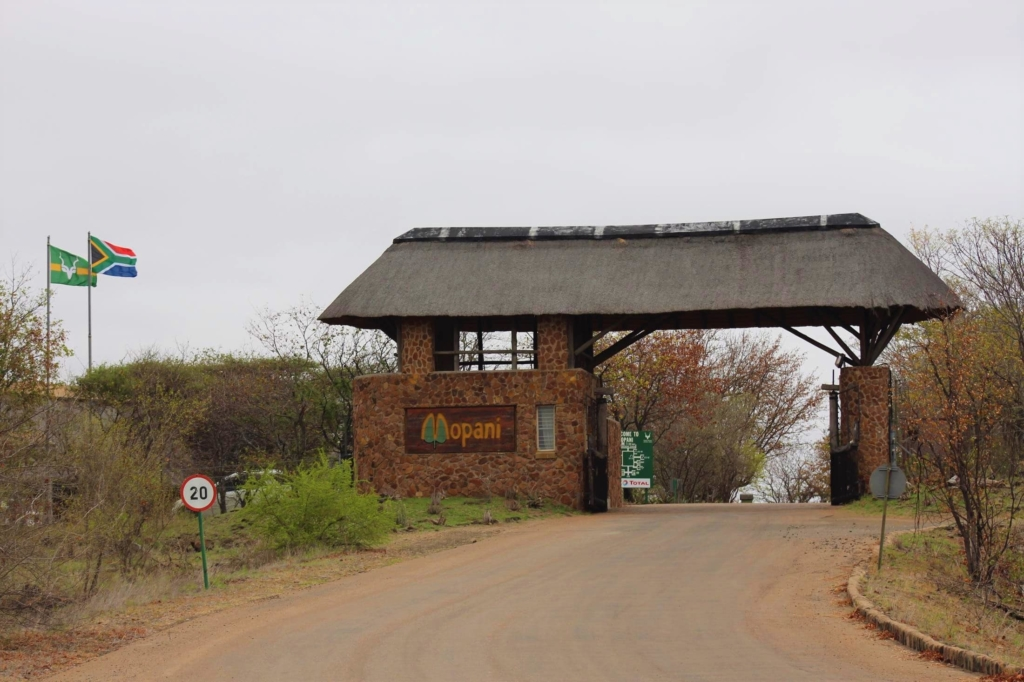 Wat is een wild card van nationale parken in Zuid-Afrika - Kruger National Park - Ingang Mopani Camp