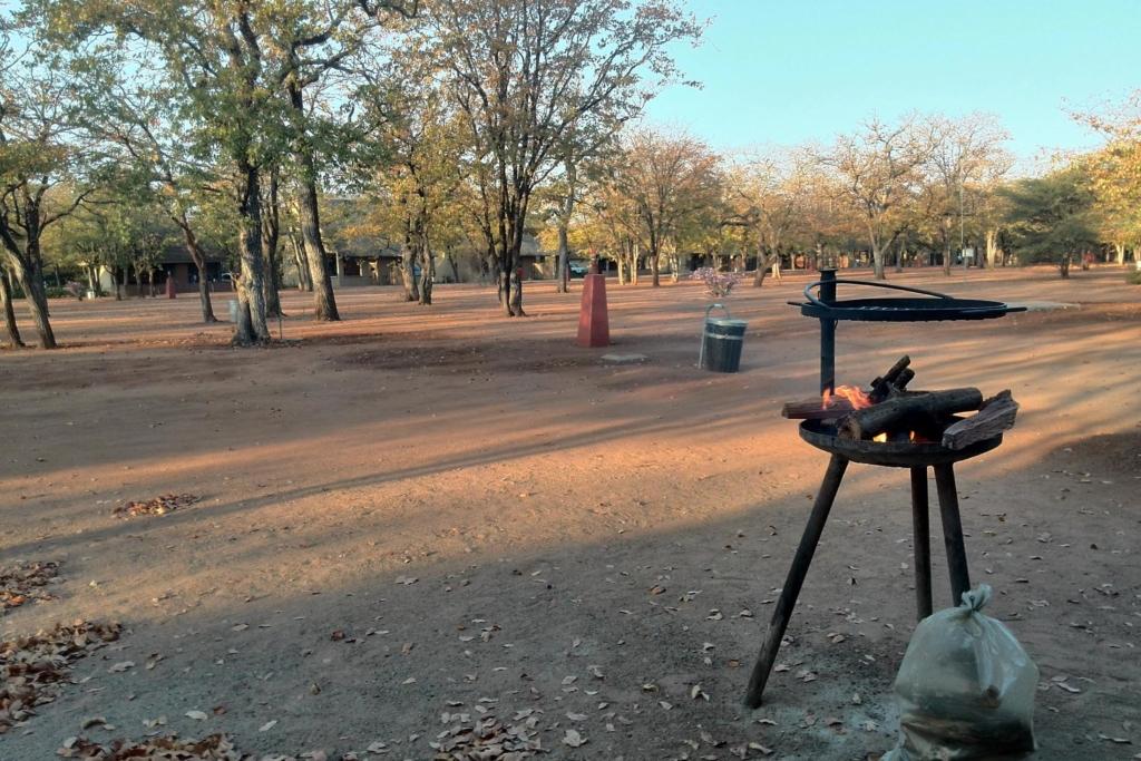 Nieuws uit Afrika - Kruger National Park - Braai bij de accommodatie