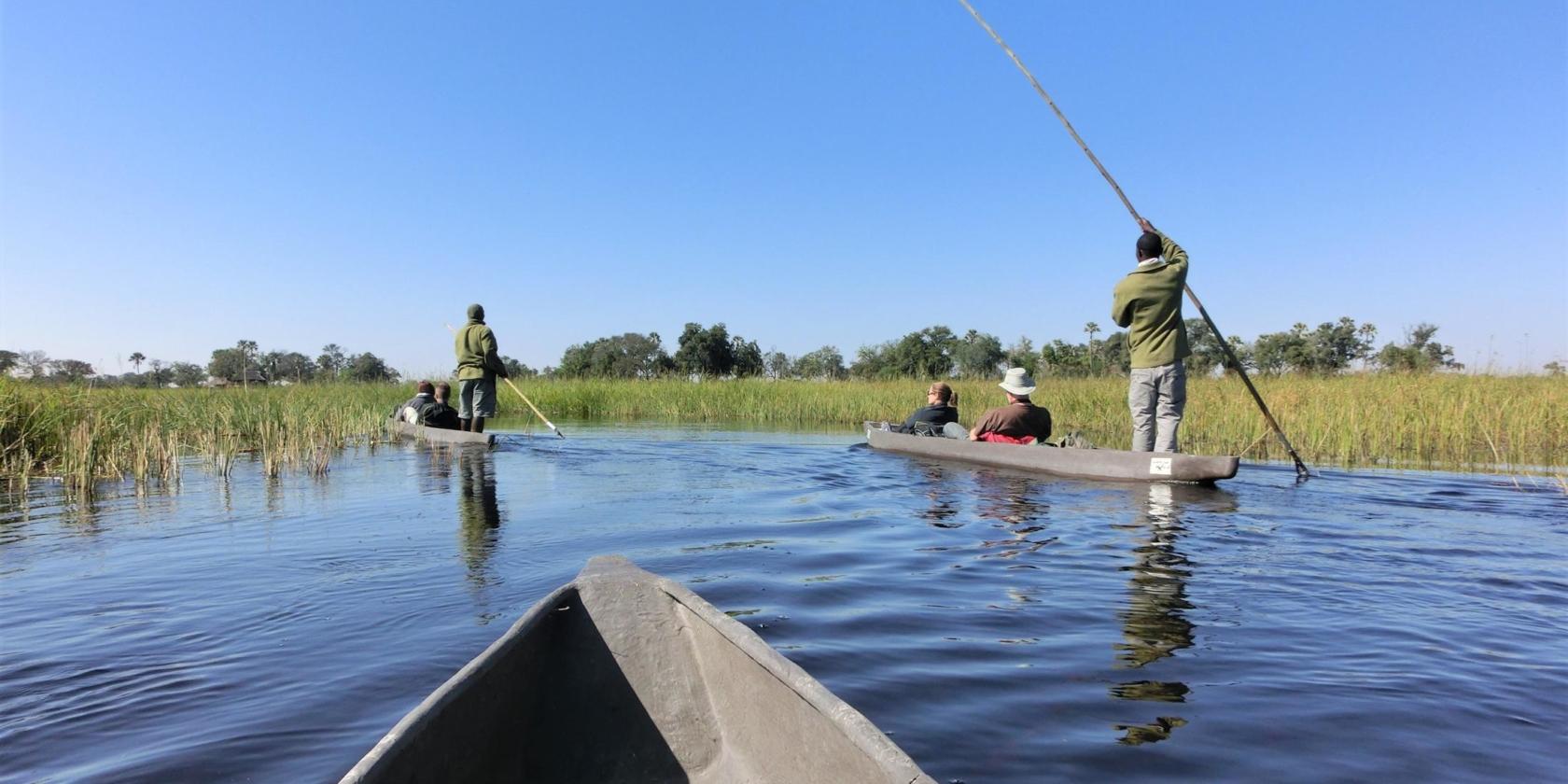 Okavango Delta - Mokorotocht
