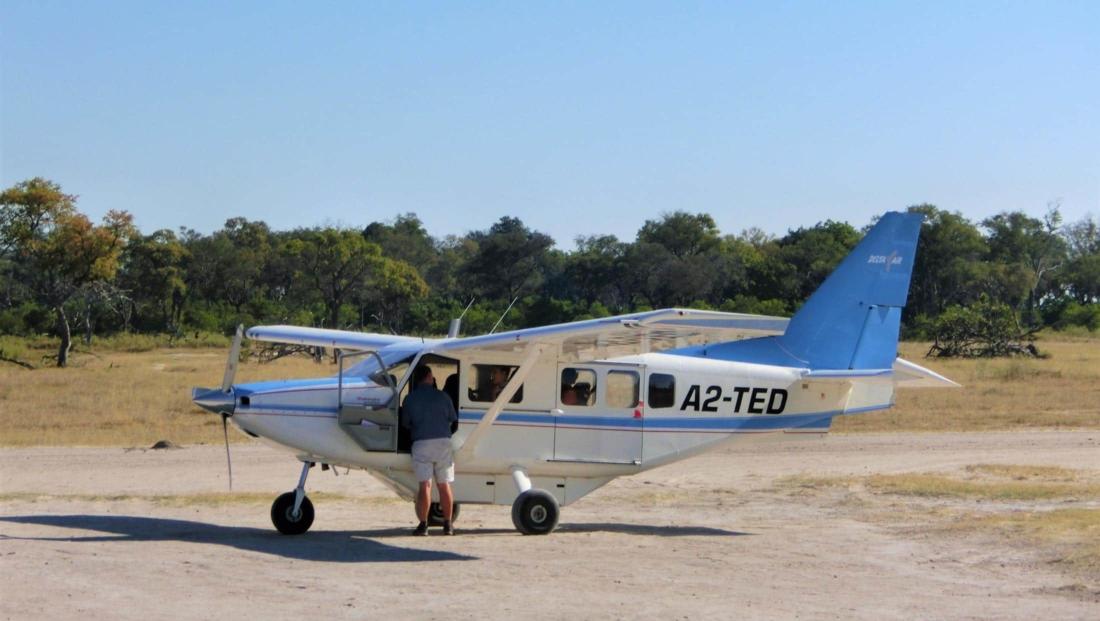 Okavango Delta - Fly-in safari vliegtuig