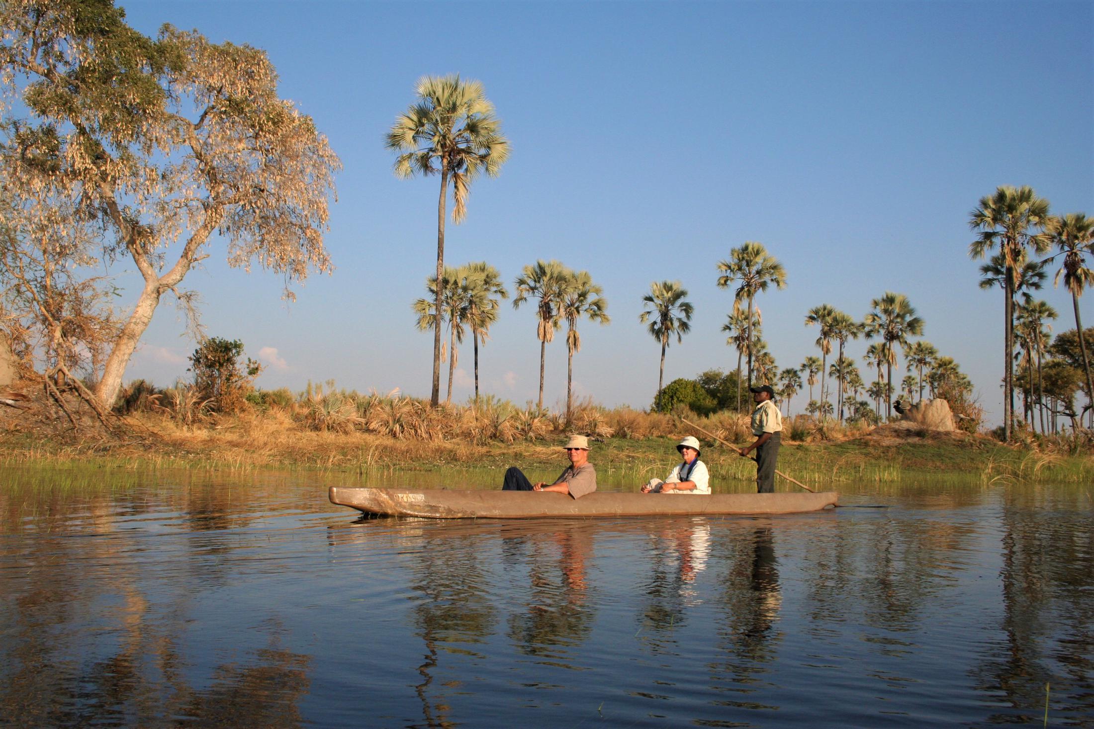 Safari Reizen Namibië: Combinatie met Botswana - Okavango Delta - Mokorotocht