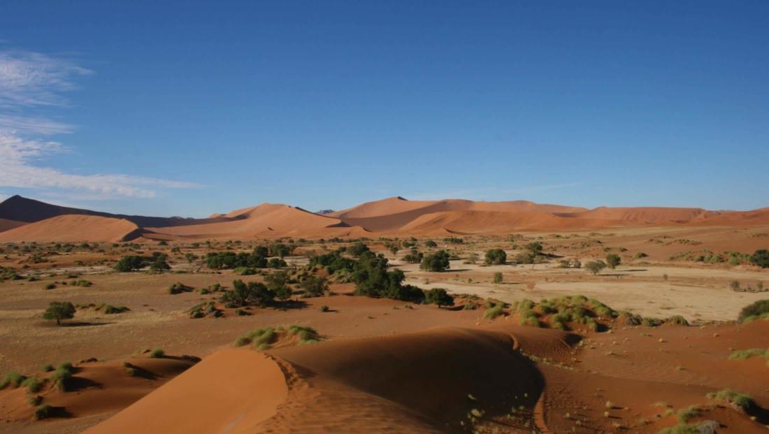 Sossusvlei - Panorama uitzichten