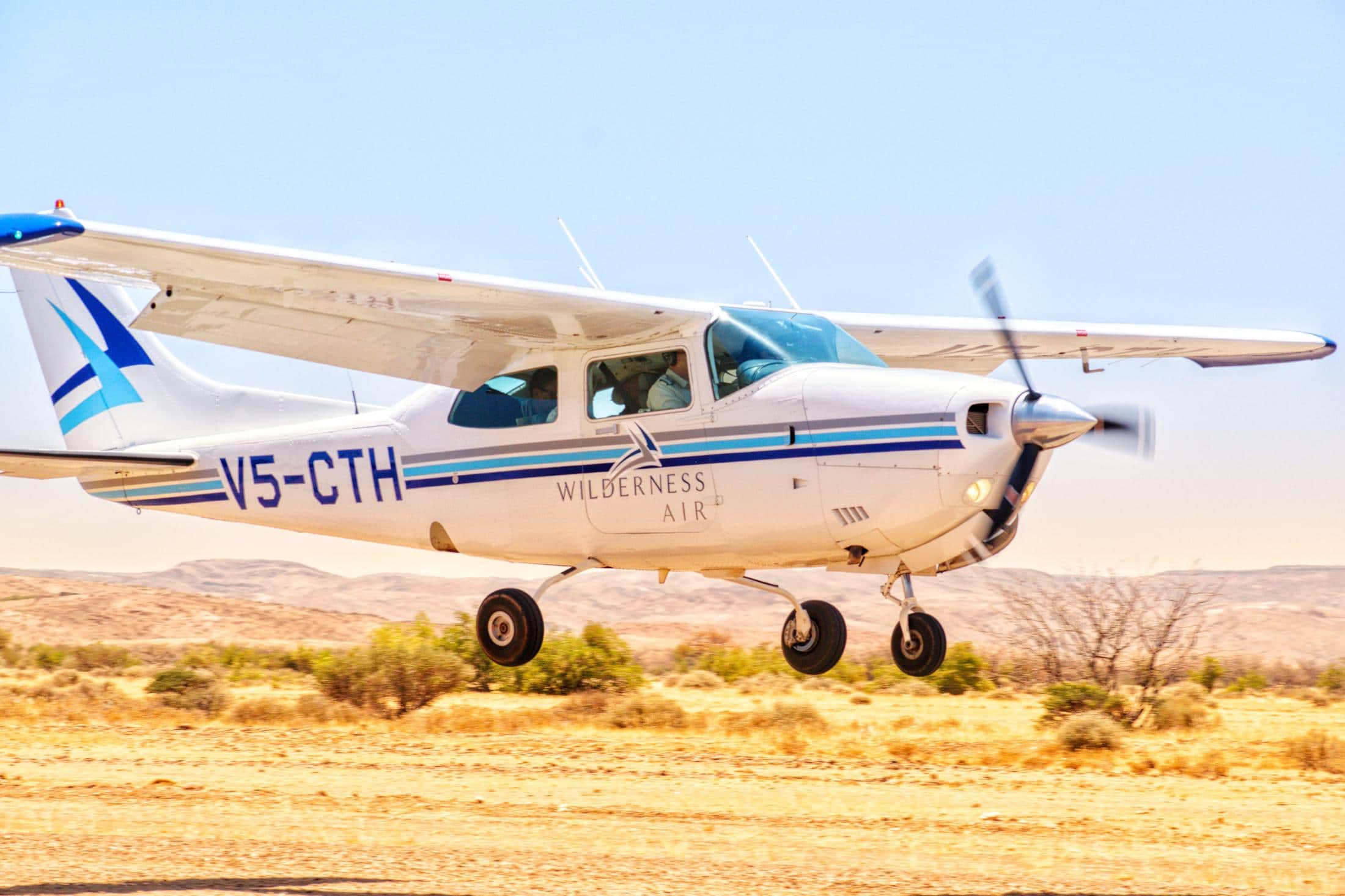 Luxe reizen Namibië - Fly-in safari's in Namibië met Wilderness Air.