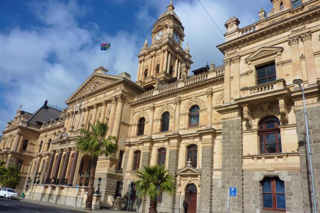 Bezienswaardigheden Zuid-Afrika - Kaapstad - Stadhuis