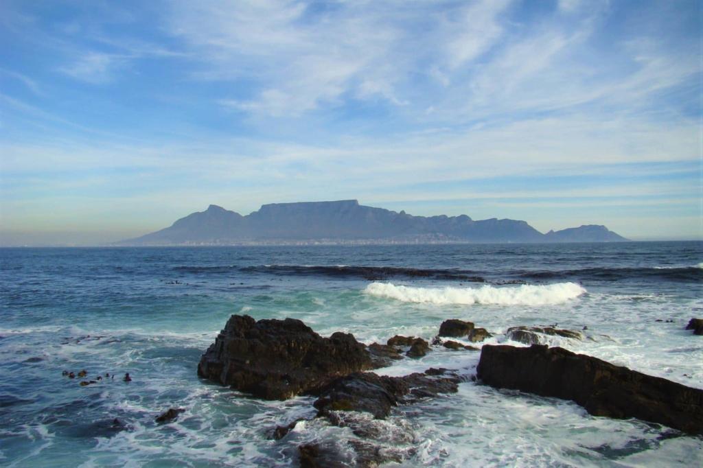 Must-sees Zuid-Afrika - Kaapstad - Uitzicht op de Tafelberg