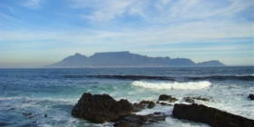 Kaapstad - Uitzicht op de Tafelberg