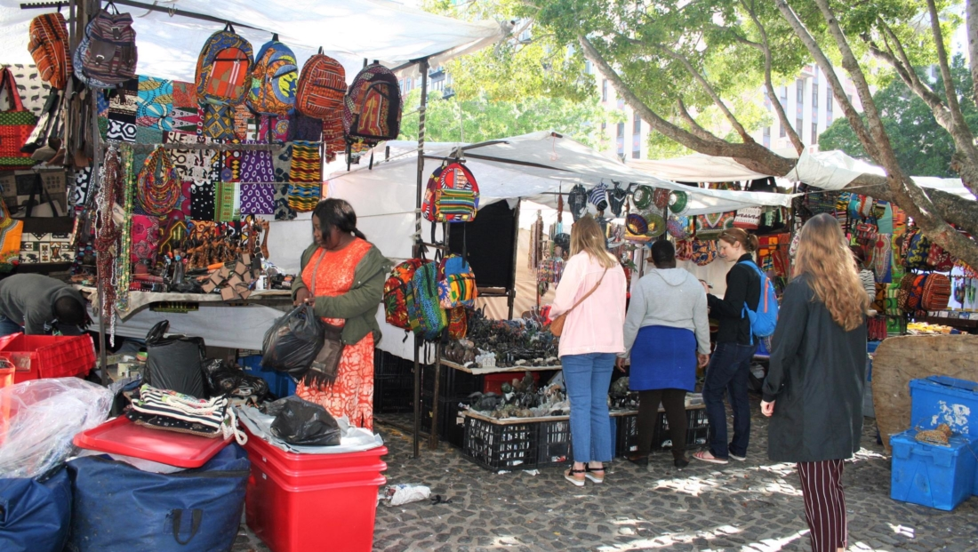 Kaapstad - Markt