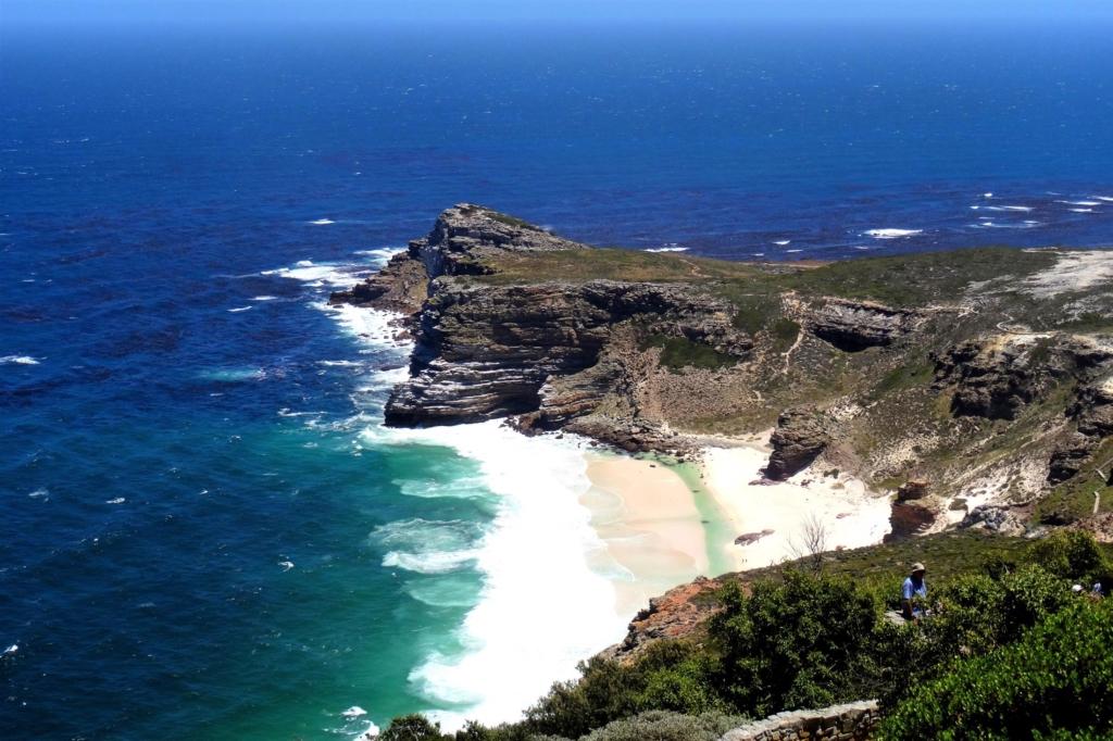 Bezienswaardigheden Zuid-Afrika - Uitzicht vanaf Cape Point, Kaapstad