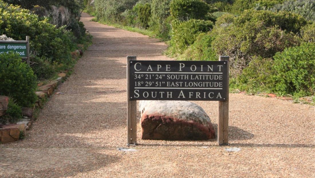 Kaapstad - Op weg naar Cape Point