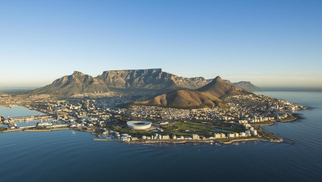 Kaapstad - Kaapstad, stadion, Lion's Head, Tafelberg