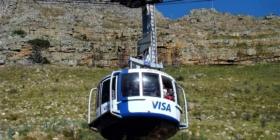 Kaapstad - Kabelbaan naar Tafelberg