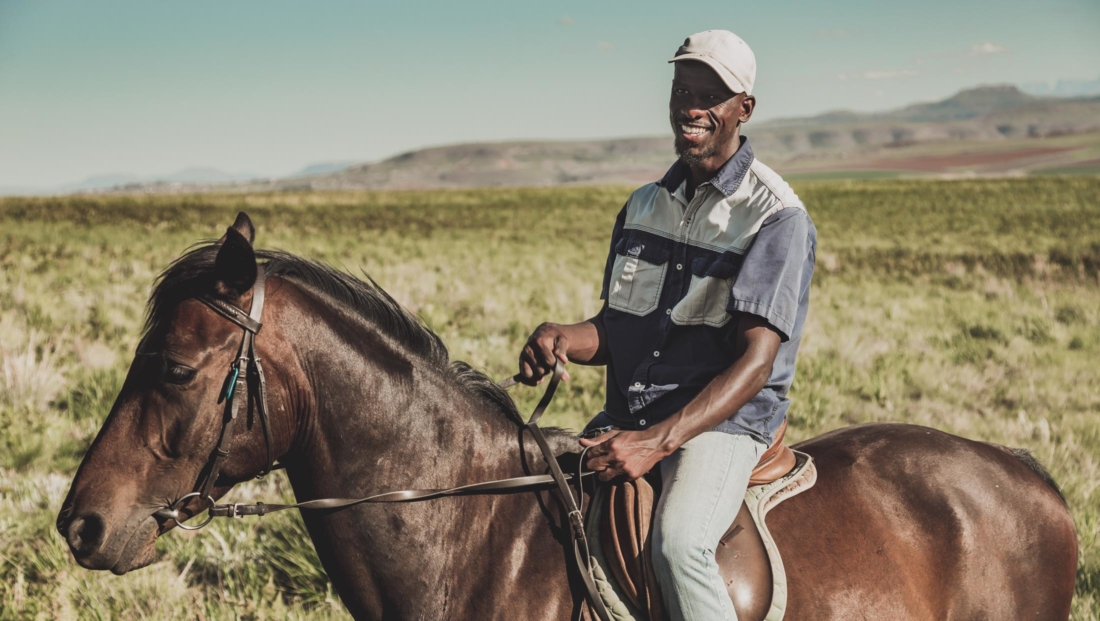 Montusi - Paardrijden door de bergen met gids