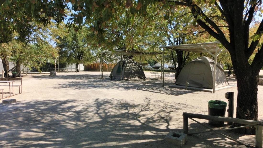 Audi Camp - Koepeltenten op kampeerterrein