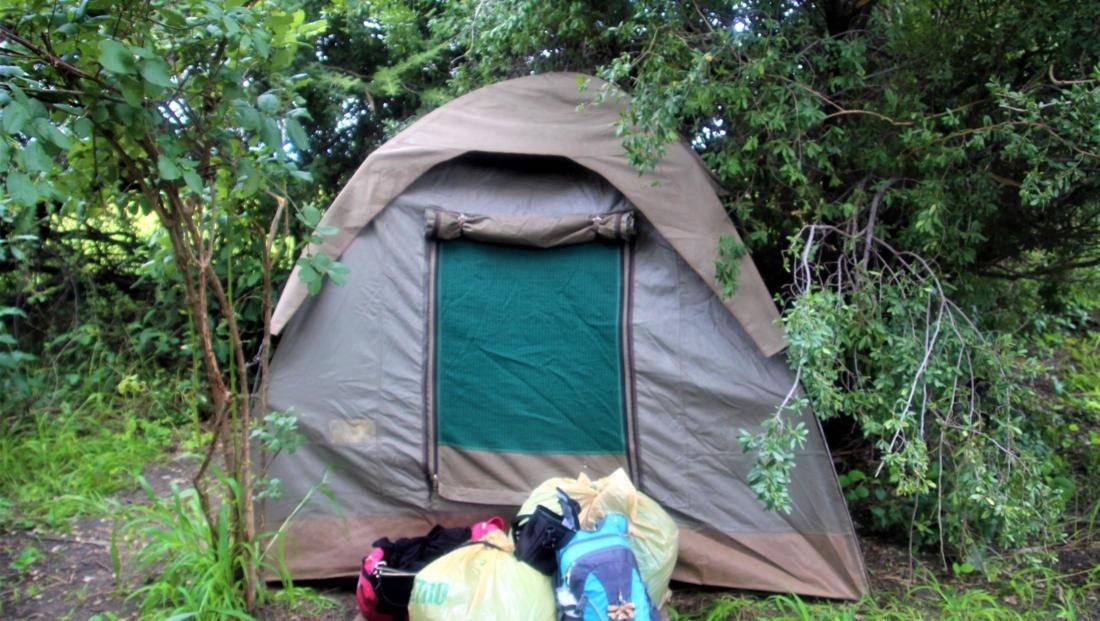 Audi Camp - Mokorotocht Okavango Delta met overnachting in koepeltent
