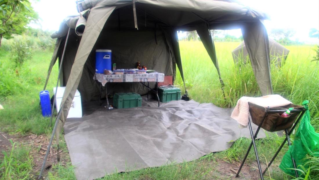 Audi Camp - Mokorotocht Okavango Delta keuken