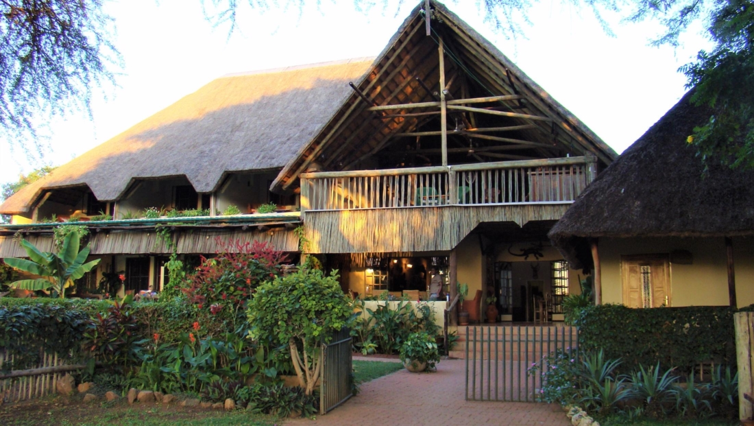 Garden Lodge - Hoofdgebouw