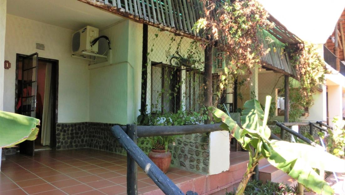 Garden Lodge - Kamers buitenkant