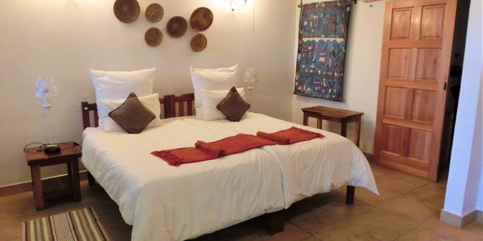 Garden Lodge - En-suite slaapkamer
