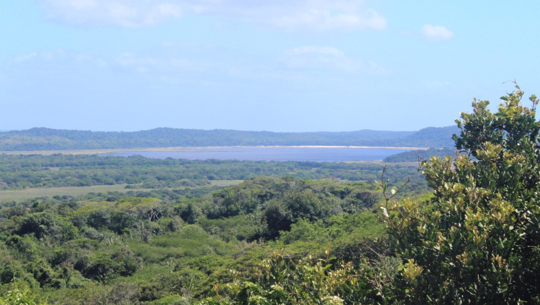 Isimangaliso St Lucia - Uitzicht over Lake St Lucia