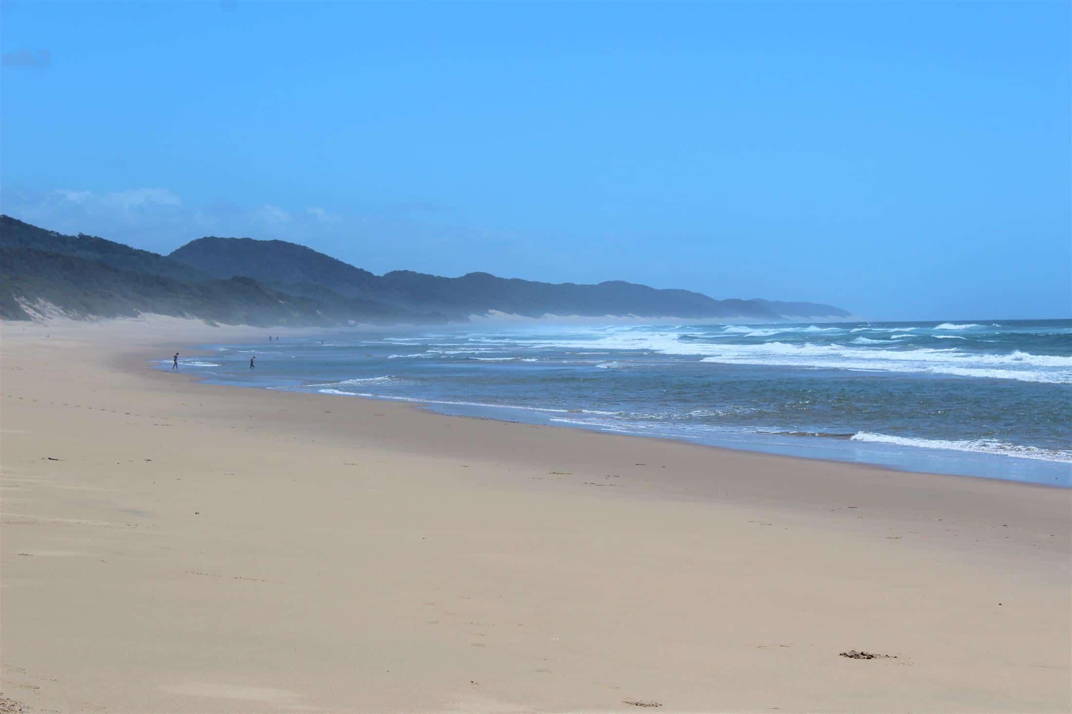 Safari & Strand reizen Afrika - Kustlijn Zuid-Afrika, strand Cape Vidal