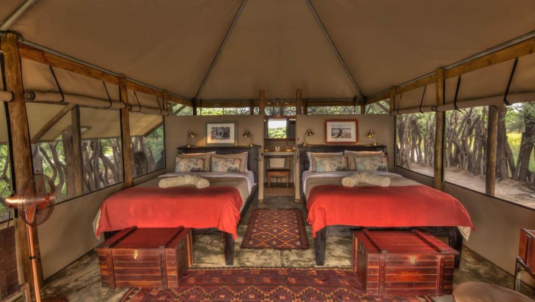 Meno a Kwena - Ruime en-suite safari tenten in de natuur