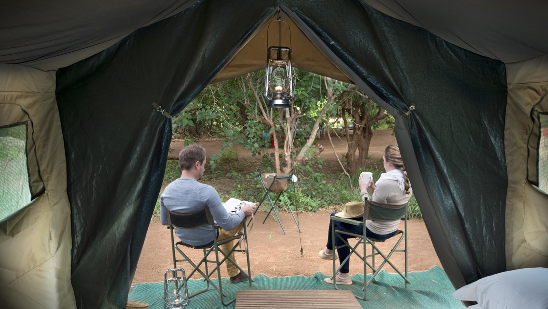 Pafuri Walking Safaris - Tent midden in de bush