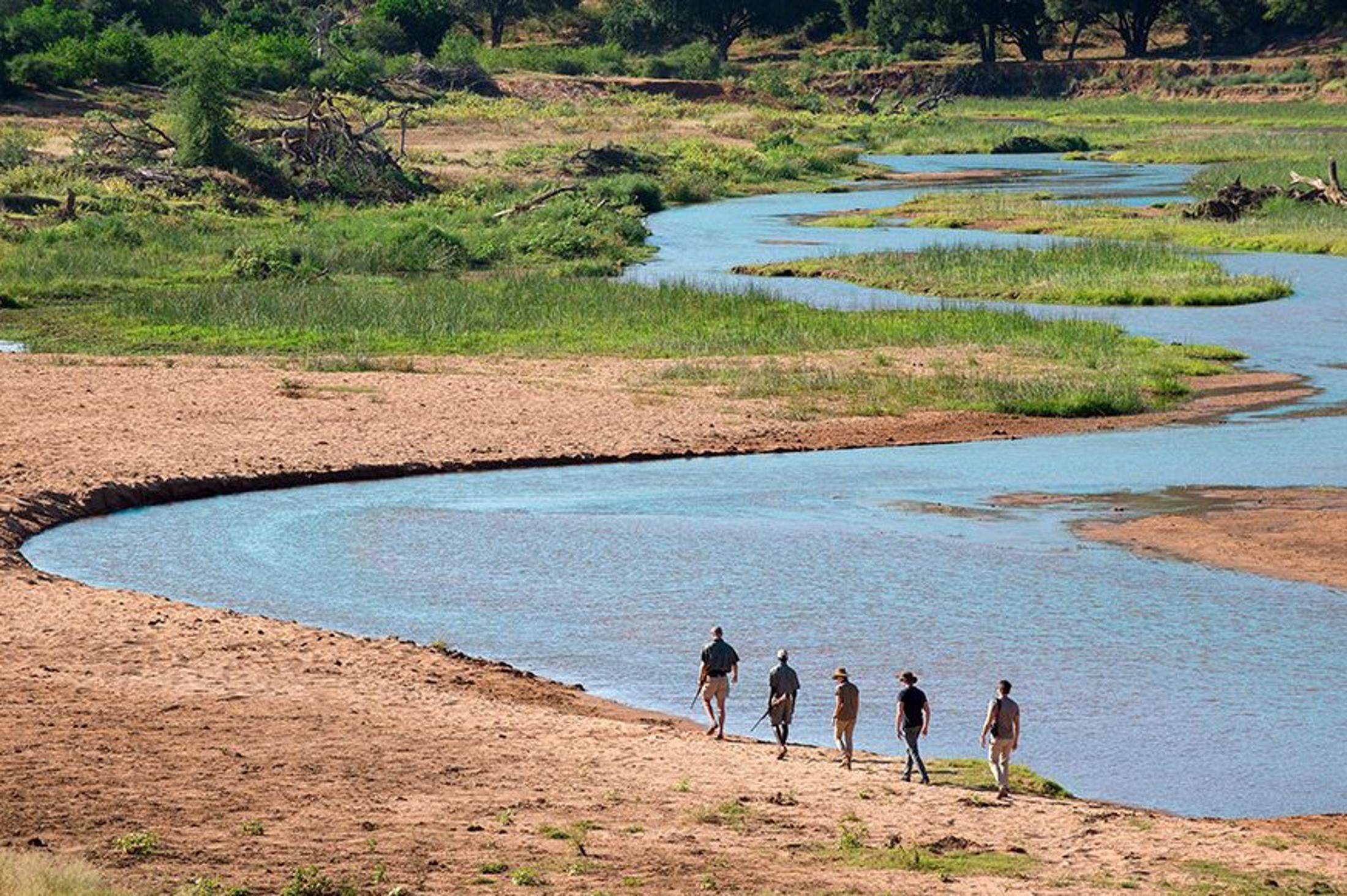 Actie & Avontuur reizen Afrika - Safariwandelingen met gewapende ranger