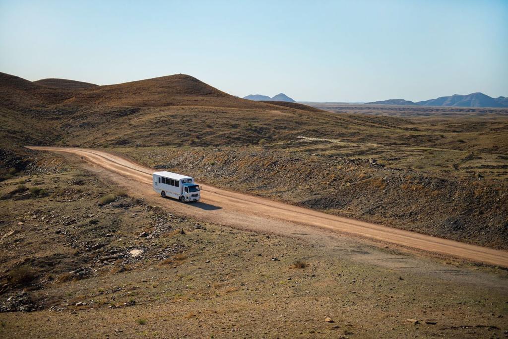 Bijzondere groepsreizen Afrika - Nomad truck in Namibië