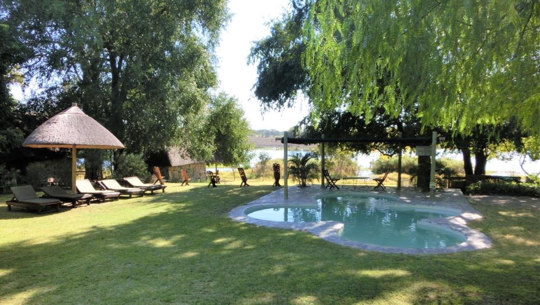 Thamalakane Lodge - Zwembad
